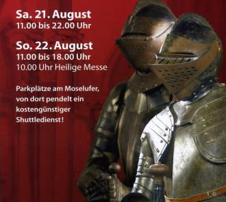 Burgfest 2010 in Kobern auf der Oberburg